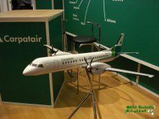 Carpatair, TTR 2009, macheta avion