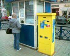 automat bilete, CTP Arad