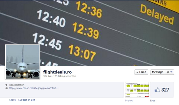 flightdeals.ro, promotii, bilete de avion