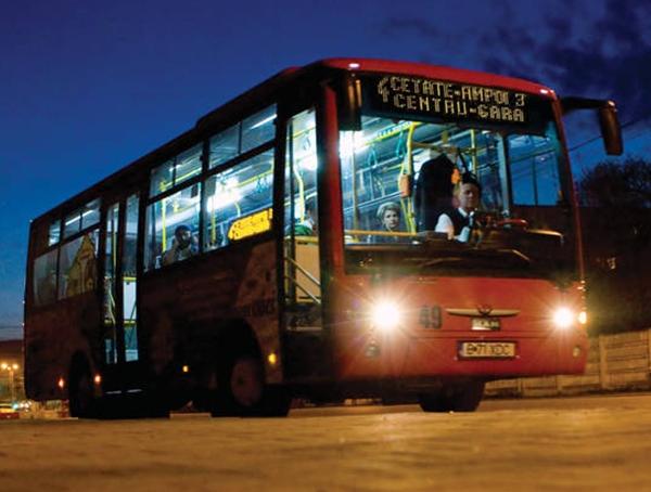 transport public, Alba Iulia, STP Alba