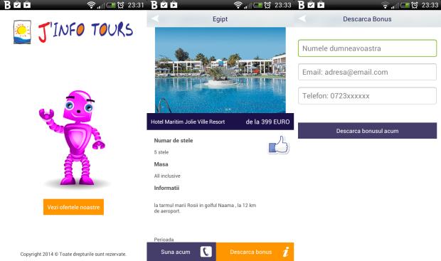 J'Info Tours, oferte turistice