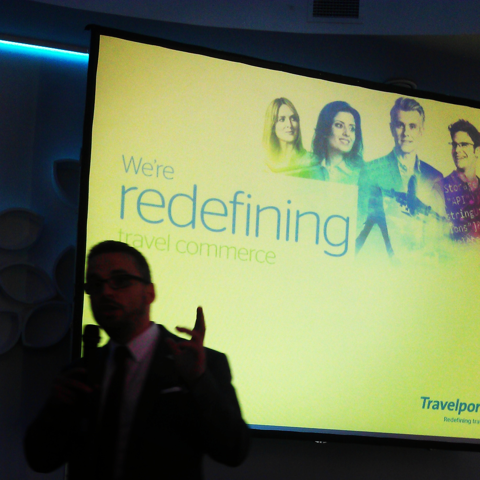 travelport, redefining travel commerce, branding
