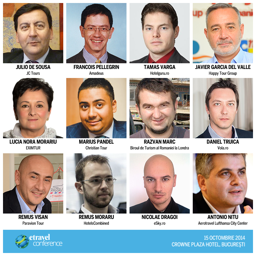 eTravel Conference, speakeri, vorbitori