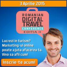 RDTC, Romanian Digital Travel Conference