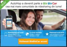 autohop.ro, blablacar