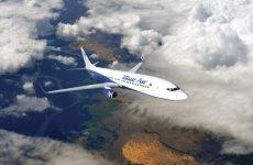 Blue Air, avion, cer, zbor